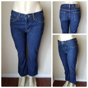 DKNY Jeans Vintage Dark Wash Boot Cut Jeans